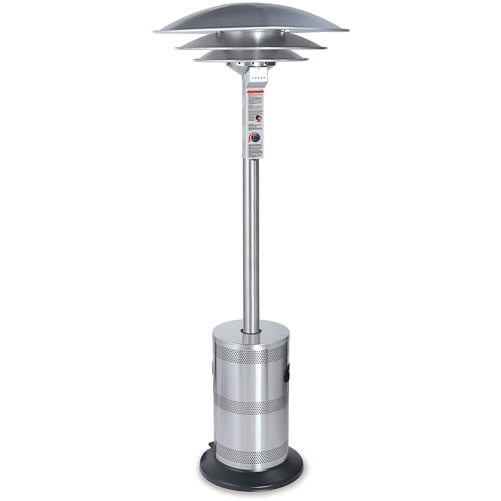 Commercial Outdoor Lp Gas Triple Dome Patio Heater Endless Summer