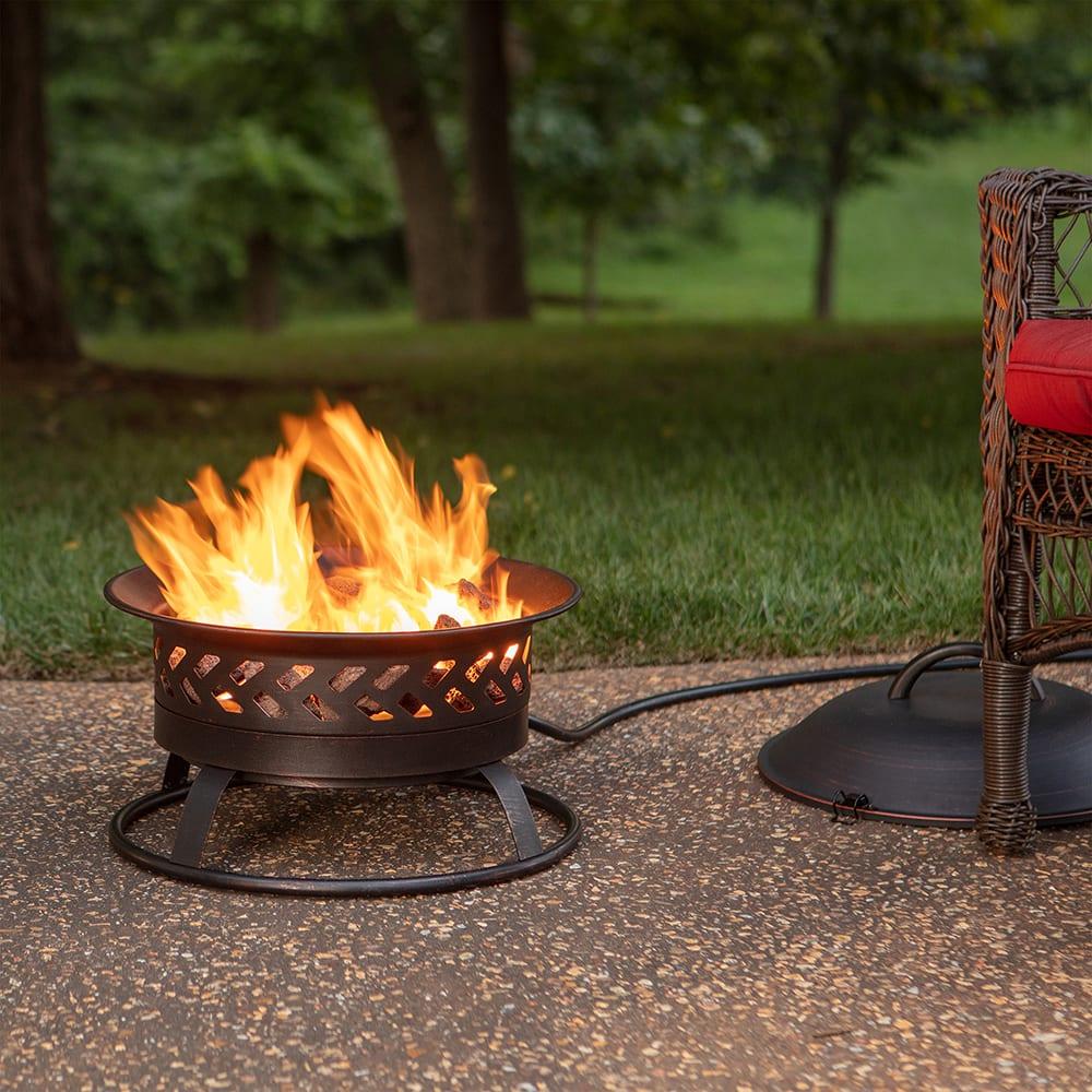 Portable LP Gas Outdoor Fire Pit - Endless Summer